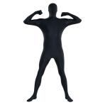 Adults Black Party Suits - Size M - 3 PKG