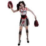 Zombie Cheerleader Costume - Size 16-18 - 1 PC