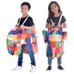 Elmer Ride On Costume - Age 3+ Years - 1 PC