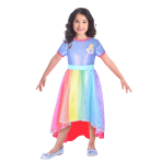 Barbie Rainbow Cove Costume - Age 8-10 Years - 1 PC