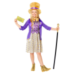 Willy Wonka Costume - Age 4-6 Years - 1 PC
