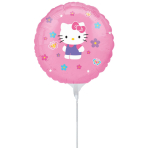 Hello Kitty EZ-Fill Air-Inflated Foil Balloons - 23cm A70 10 PKG/3