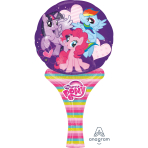 My Little Pony Inflate-a-Fun Mini Foil Balloons - A05 5 PC