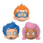 Bubble Guppies Paper Masks - 6 PKG/8