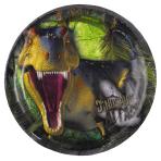 Dinosaur Attack Paper Plates 18cm - 10 PKG/8