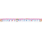 Unicorn Letter Banner 1.8m x 15cm - 10 PC