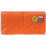 Orange Peel luncheon Napkins 33cm - 6 PKG/125