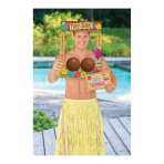 Hawaiian Tikki Bar Photo Props - 9 PC