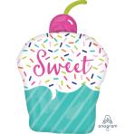 """Sweets & Treats SuperShape XL Foil Balloons 18""""/45cm w x 26""""/66cm h P35 - 5 PC"""