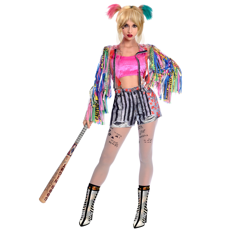 Harley Quinn Birds Of Prey Costume Size 8 10 1 Pc Amscan International