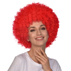 Red Afro Wigs - 6 PC